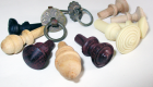 Antique restoration materials, wood & metal knobs