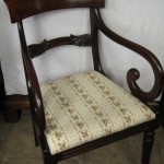 Antique Regency mahogany chair