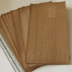Veneer English oak quarter cut bundle