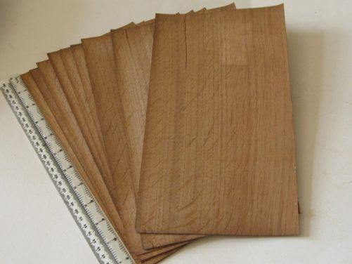 Veneer English oak quarter cut bundle