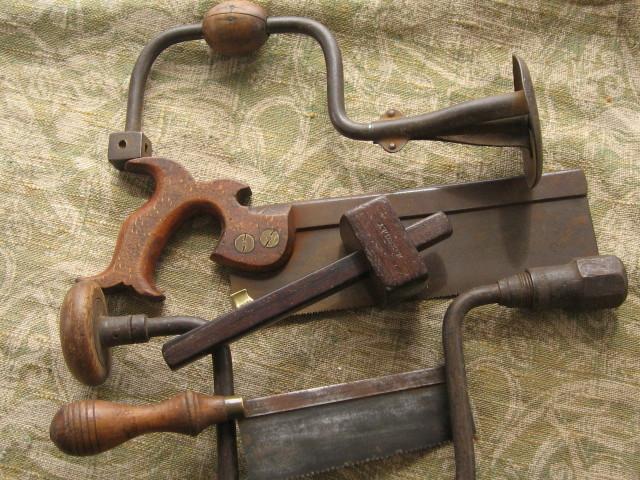 Collectors antique woodworking tools