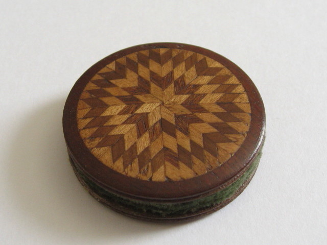 Tunbridgeware pin wheel