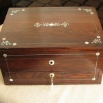 Victorian ladies writing box
