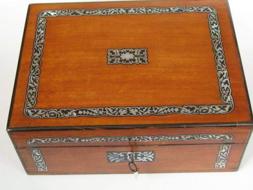 Satinwood box